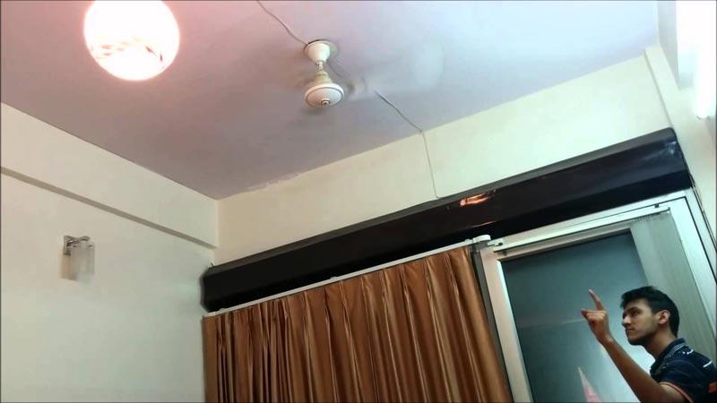 z wave curtain control