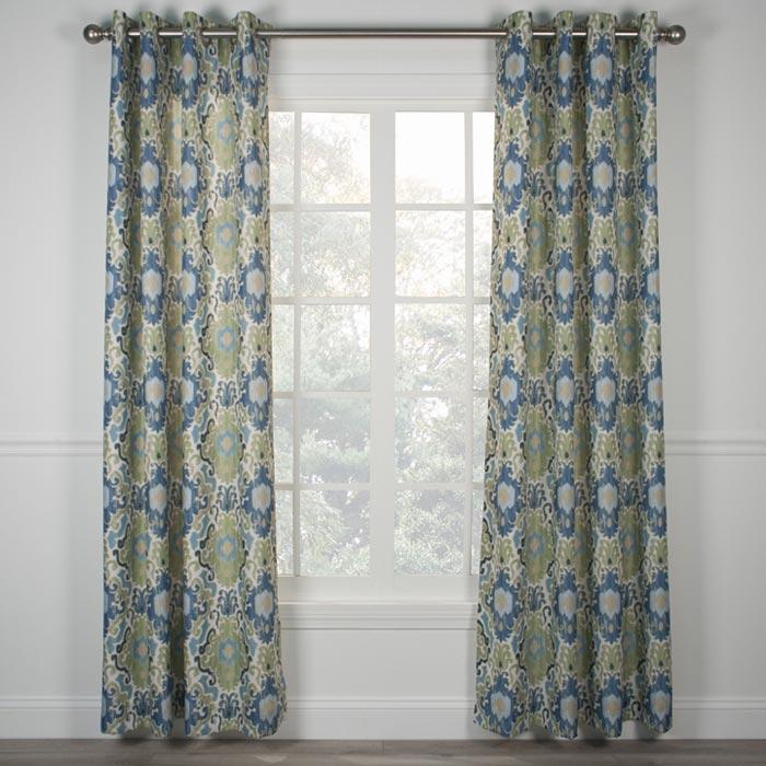 54 inch length grommet curtains