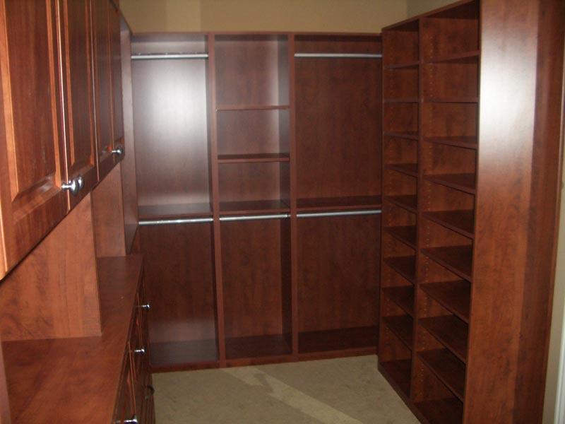 custom closet organizers