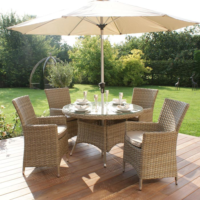 resin weave garden furniture
