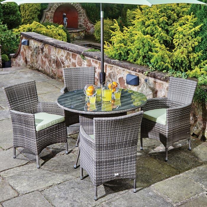 synthetic resin weave garden furniture