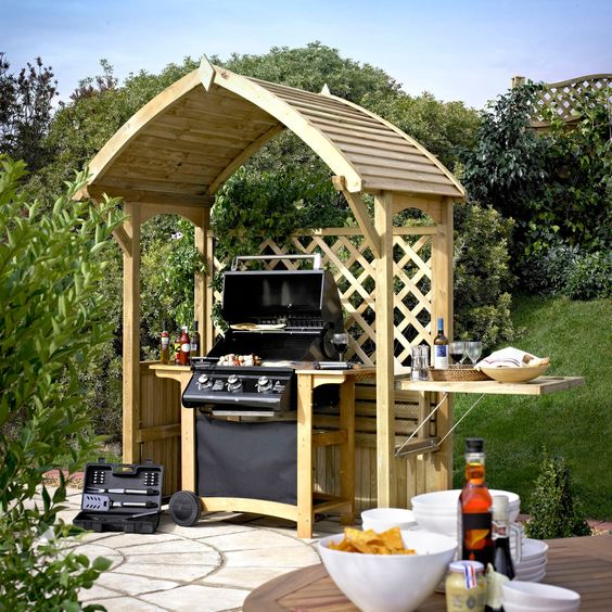 b&q garden furniture arbours