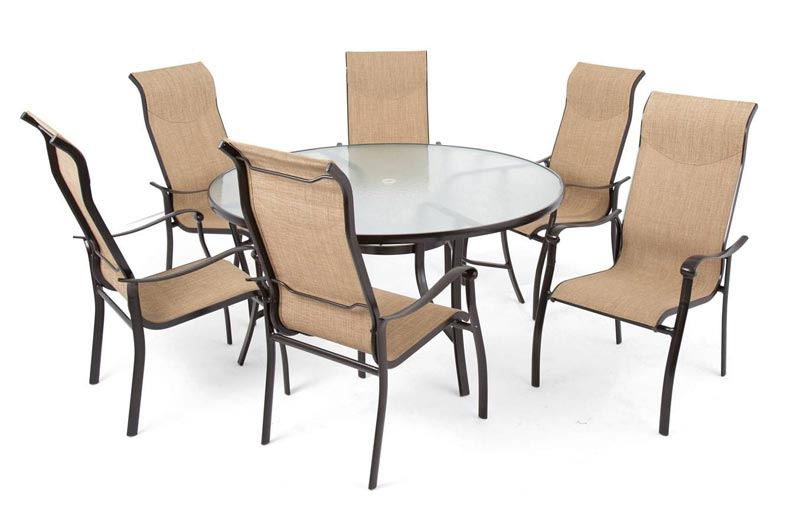 hideaway dining table and 6 chairs