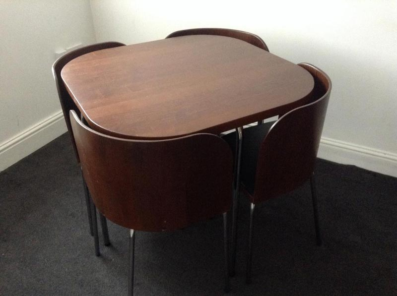 hideaway dining table and chairs ikea