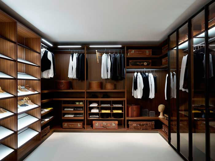 best wood to use for walk in closet