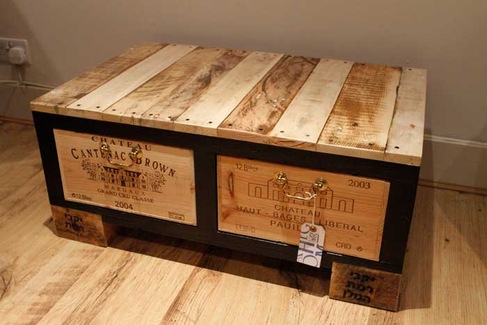 diy storage chest coffee table