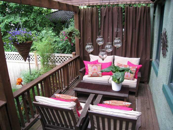 ideas for apartment patio gardens