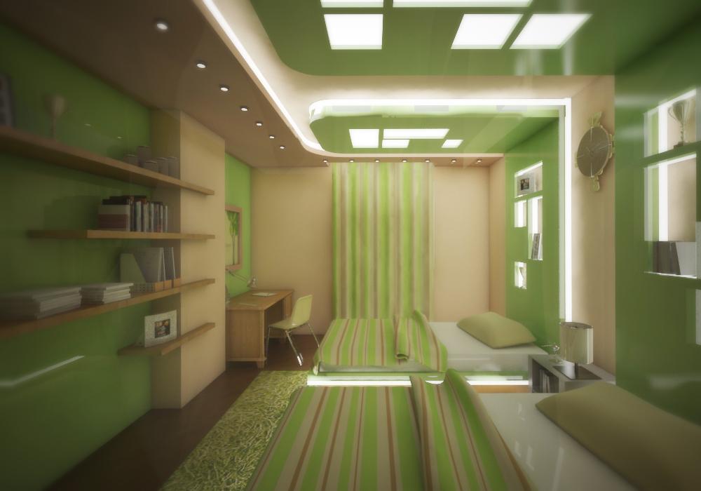 3. The unique ceiling LED lights