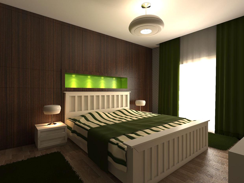7. Beyhan Bayhan used dark green drapes