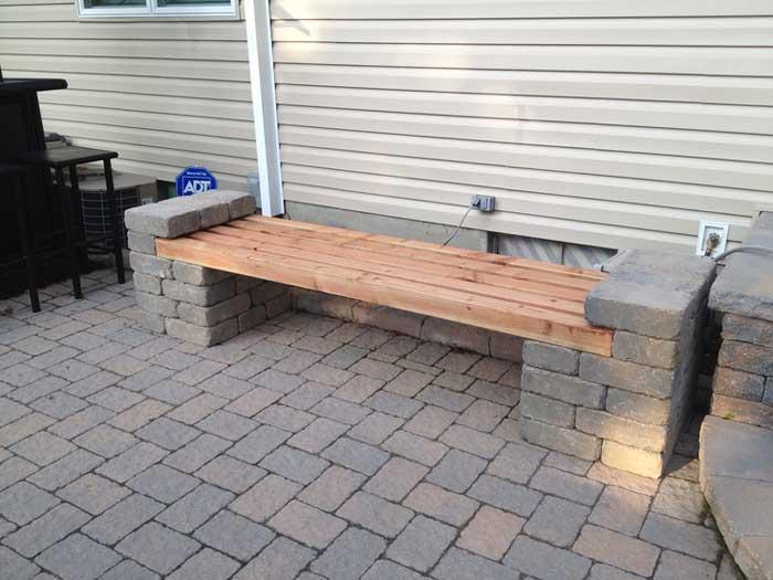 brick bench ideas3