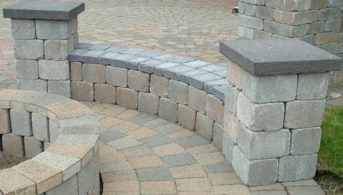 brick bench ideas4