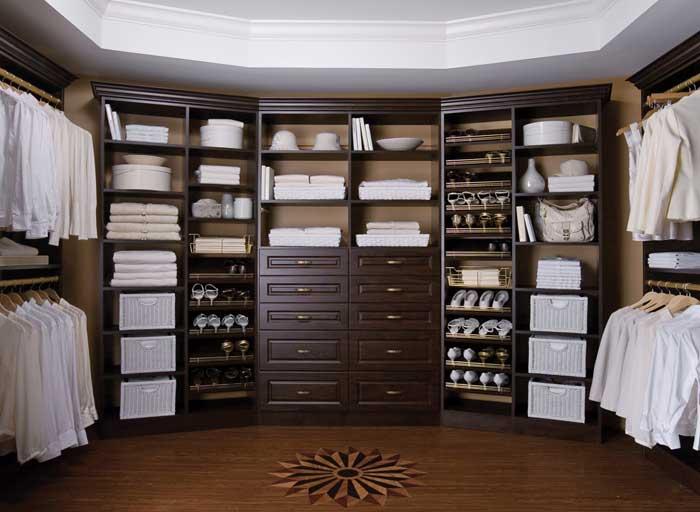 custom closet design and installation