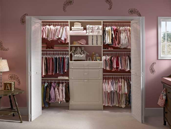 custom closet storage design