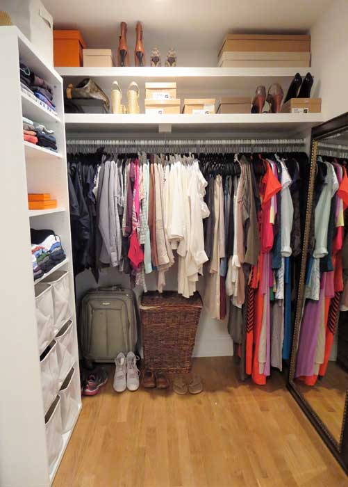 inexpensive walk in closet systems