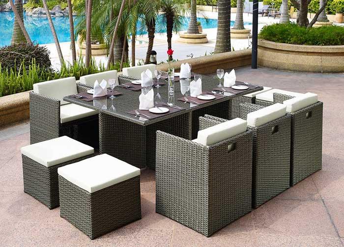 quality rattan garden furniture sale