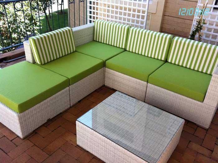 rattan garden furniture cushion covers