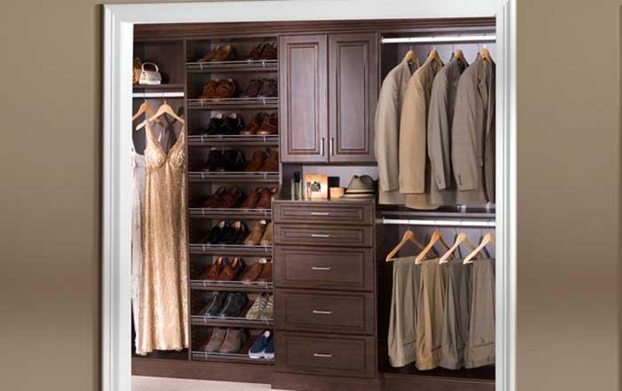 walk in closet systems costco