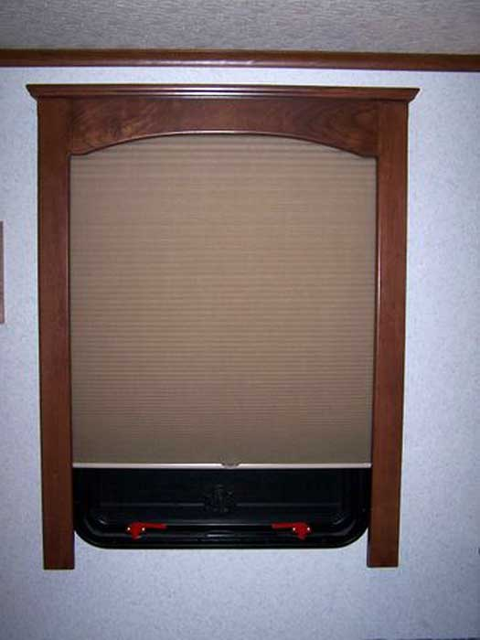 rv window treatment hardware