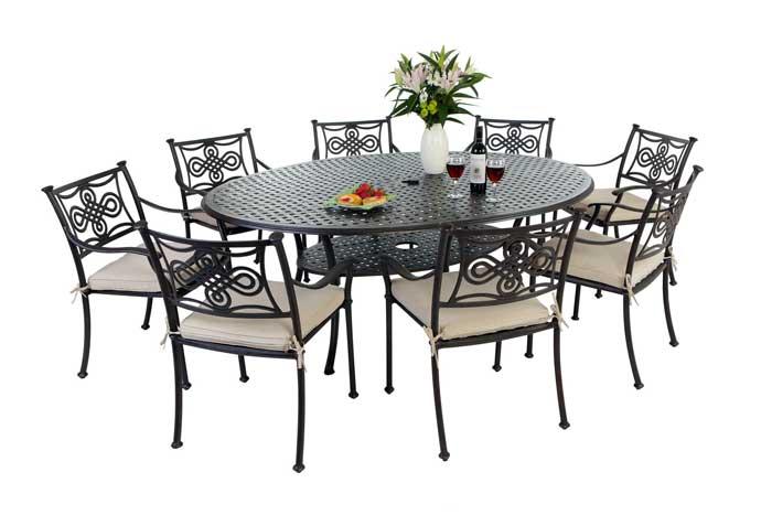 tredecim aluminium garden furniture